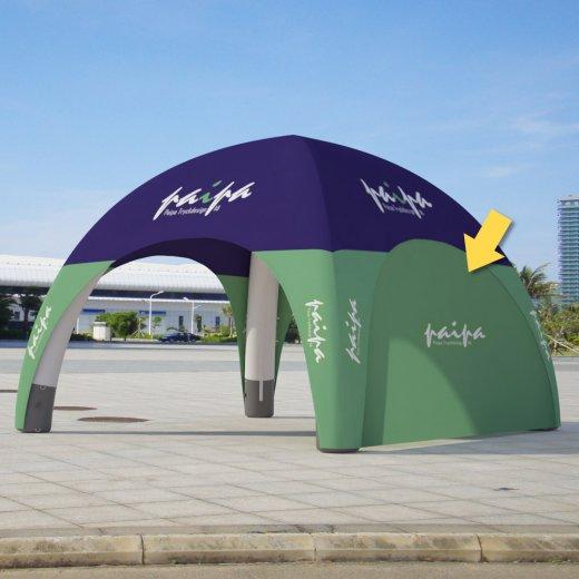 Vägg till uppblåsbart tält 4x4