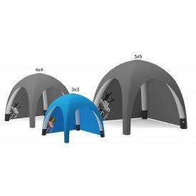 Uppblåsbart tält 3x3