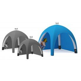Uppblåsbart tält 5x5