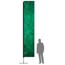Beachflagga Rak XLarge med mast