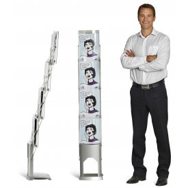 Brochure Stand inkl nylonväska