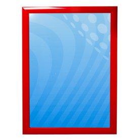 Affischram röd 50x70