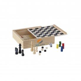 WoodGame 5-i-1 spel