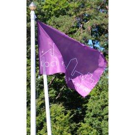 Flagga med clips 150x100