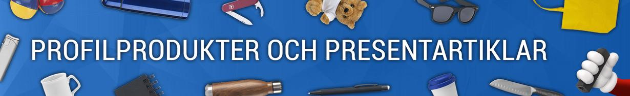 Profilprodukter och giveaways
